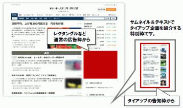 日経電子版 タイアップ広告