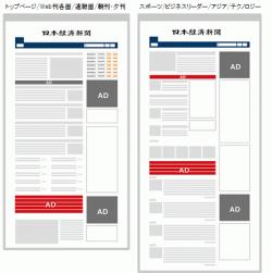 日経電子版テキスト広告